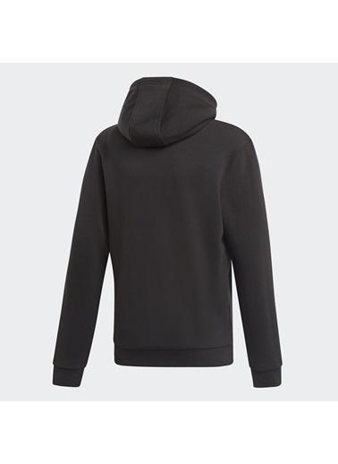 adidas Unisex Çocuk Trefoil Sweatshirt DV2870 Siyah